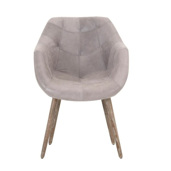 William Wooden Upholstered Dining Chair by Foundry Select