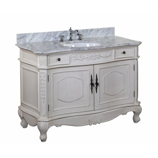 Versailles 48 Single Bathroom Vanity Set by Kitchen Bath Collection