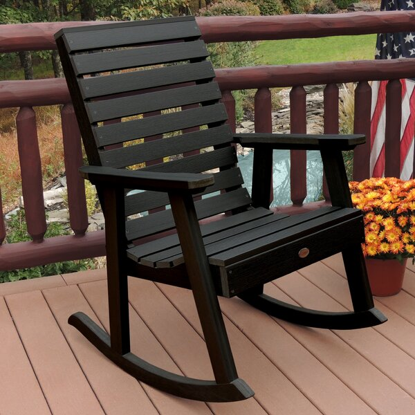 Trigg Outdoor Rocking Chair by Darby Home Co