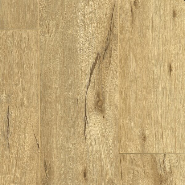 Essence 8 x 48 x 12mm Laminate Flooring in Hampton Beige by Dyno Exchange