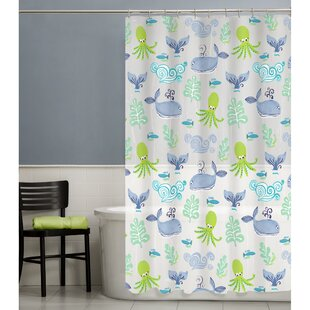 Check Prices Sea Creatures Shower Curtain By Maytex
