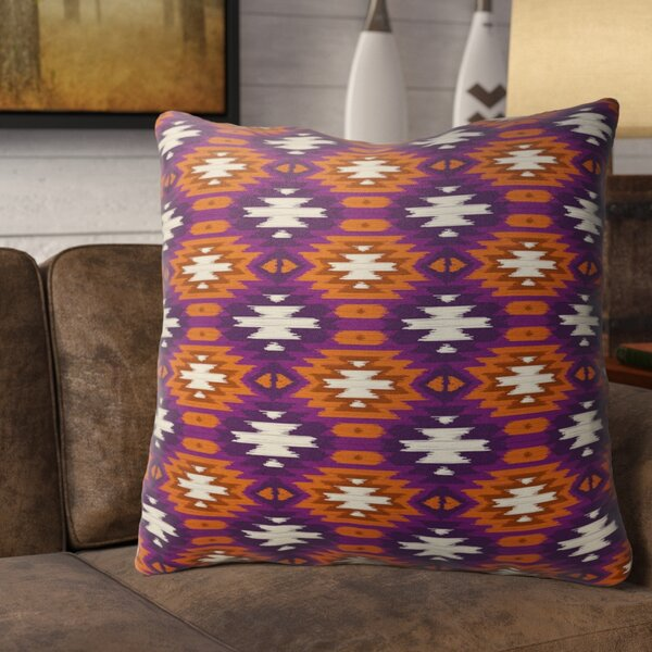 Arturo Cotton Indoor / Outdoor Geometric Euro Pillow