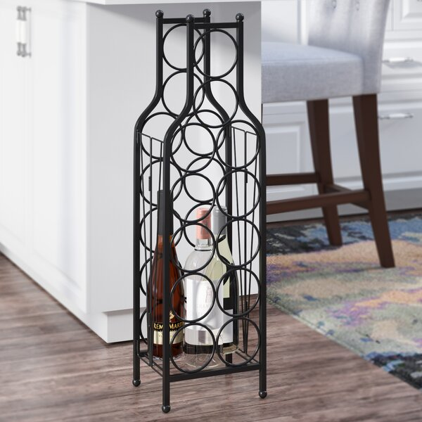 Raishon 12 Bottle Floor Wine Rack by Latitude Run
