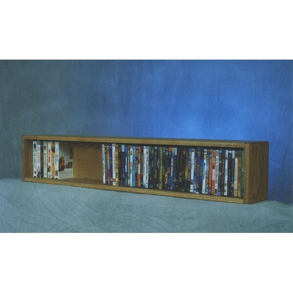 88 DVD Multimedia Tabletop Storage Rack By Rebrilliant