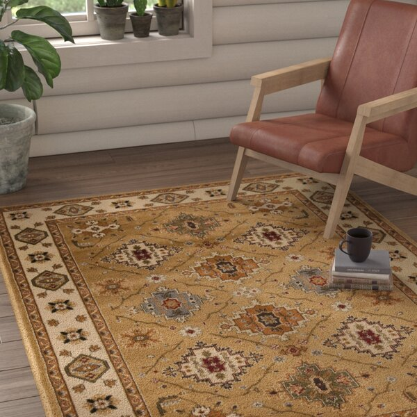 Fitch Gold Rug by Loon Peak