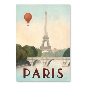 Paris Poster Gallery Graphic Art by East Urban Home