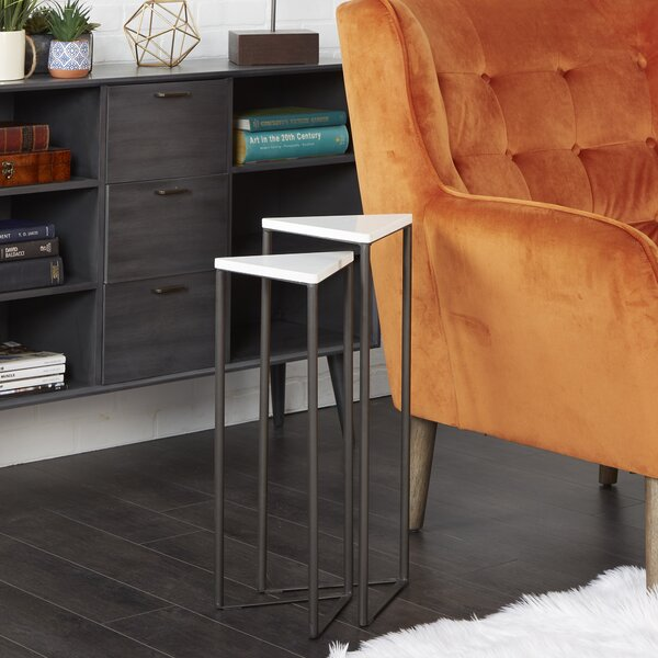 Buy Sale Valente 2 Piece Nesting Tables