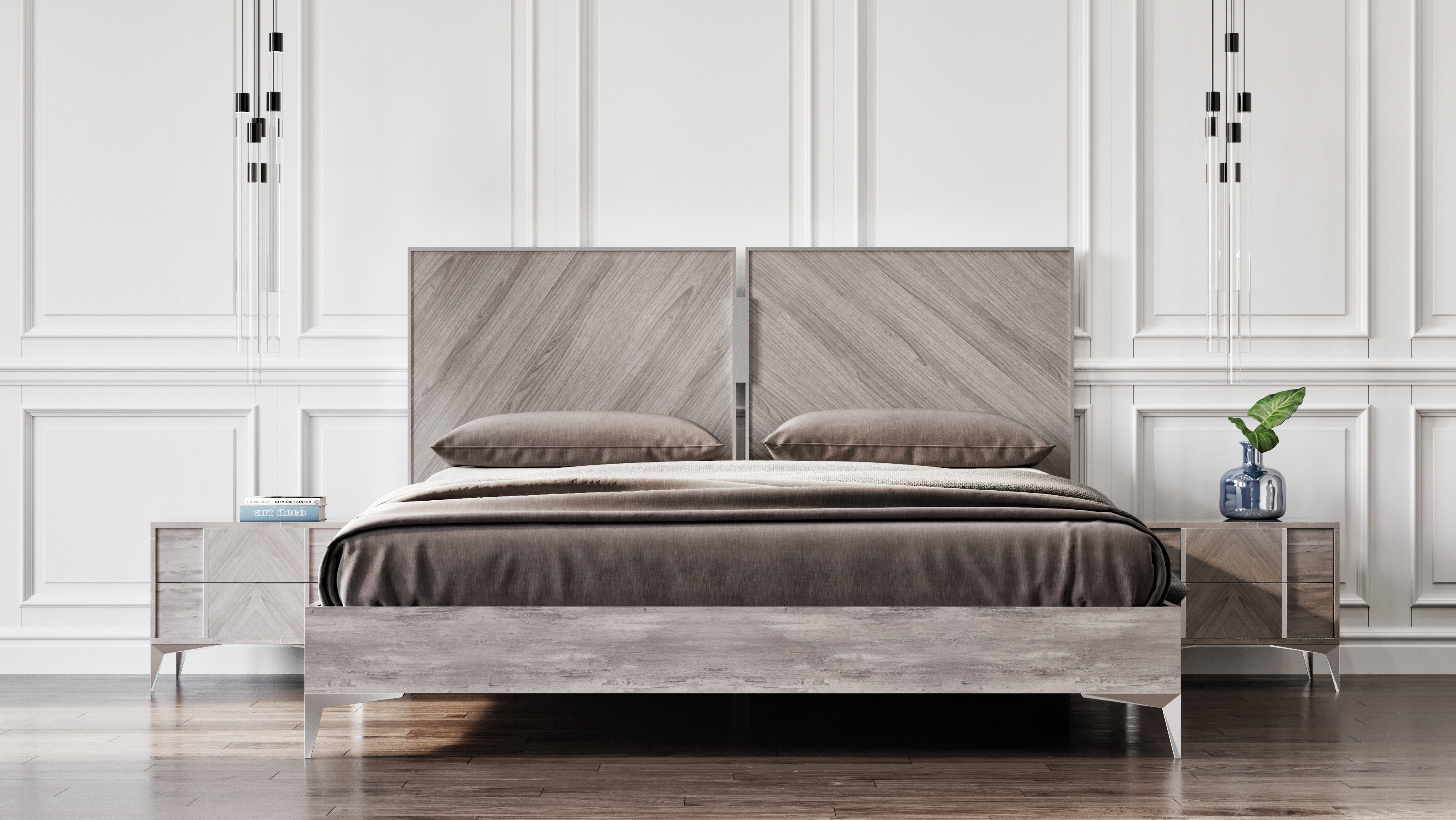 Labombard Modern Platform Bed