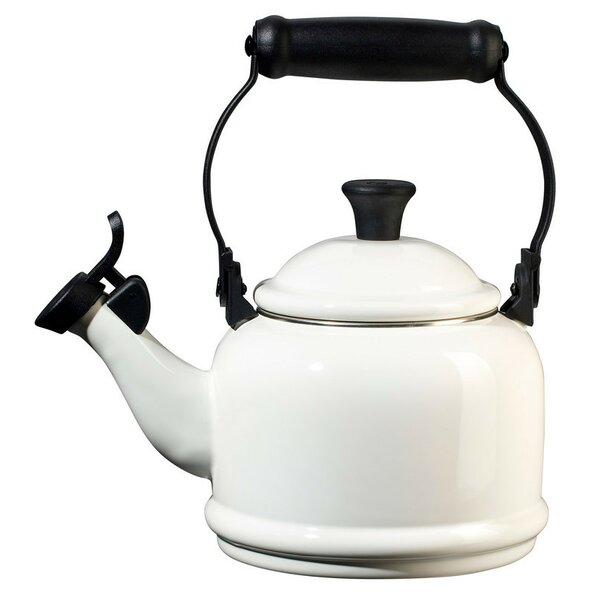 Enamel On Steel 1.25 Qt. Demi Stovetop Kettle by Le Creuset