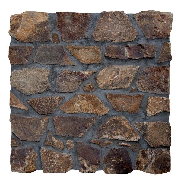 Castle Earth Loose Veneer Natural Stone Tile Tile in Brown by MSI