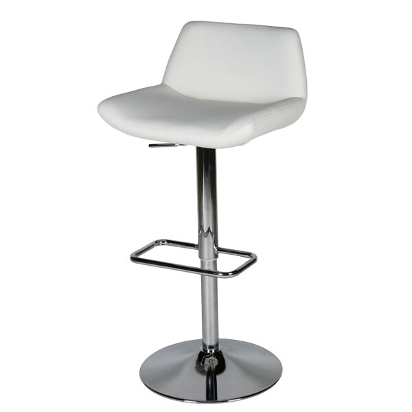 Maya Adjustable Height Swivel Bar Stool by Whiteline Imports