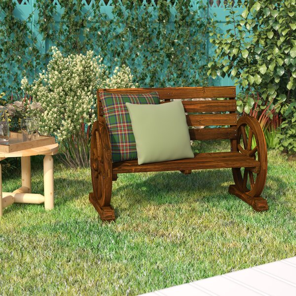 Ketcha Wood Garden Bench By Loon Peak