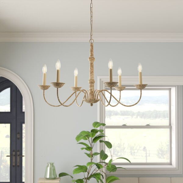 Seneca 6-Light Chandelier by Gracie Oaks