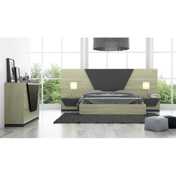 Helotes Standard 4 Piece Bedroom Set By Orren Ellis by Orren Ellis New