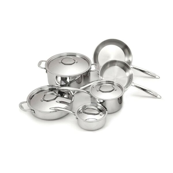 Super Elite 6 Piece Stainless Steel Cookware Set by Cuisinox