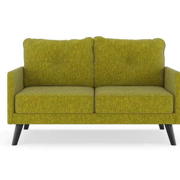 Cowart Pebble Weave Loveseat by Corrigan Studio