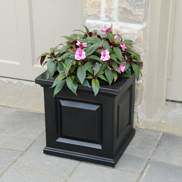 Nantucket Self-Watering Plastic Planter Box by Mayne Inc.