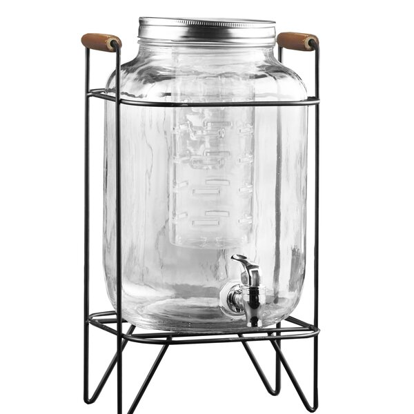 Caelan Beverage Dispenser by Gracie Oaks