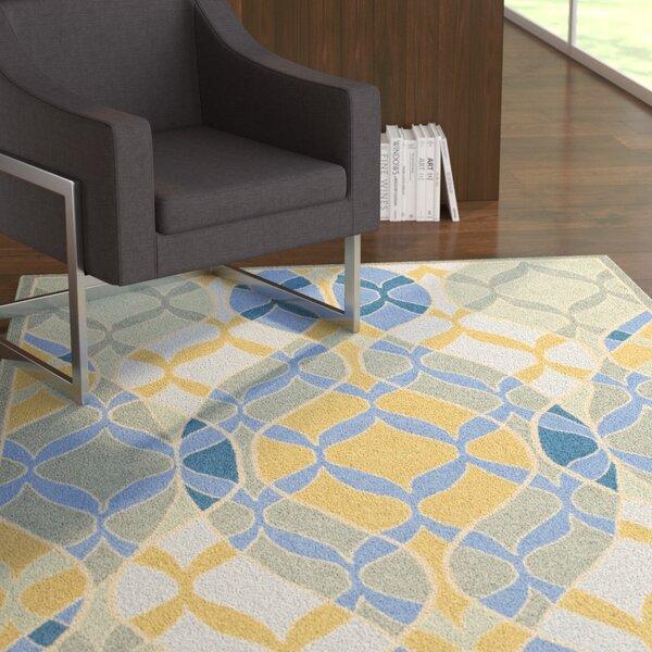 Demetra Blue Multi Rug by Ebern Designs