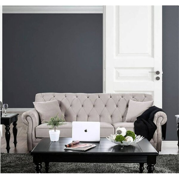 Best Recommend Alexys Modern Victorian Sofa by Rosdorf Park by Rosdorf Park
