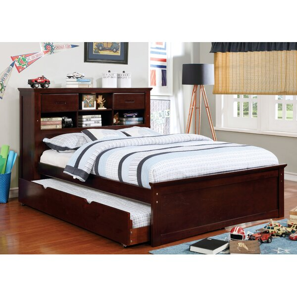 Aynor Platform Bed with Bookcase and Drawers by Harriet Bee