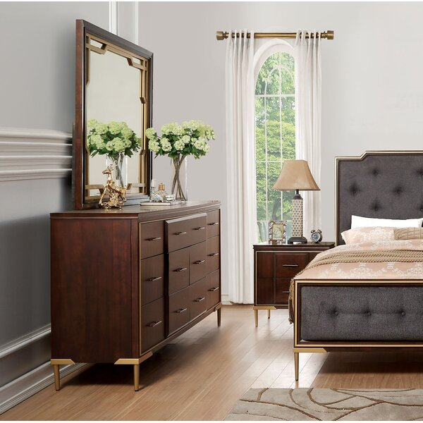 Laufer Rectangular Dresser Mirror by Everly Quinn