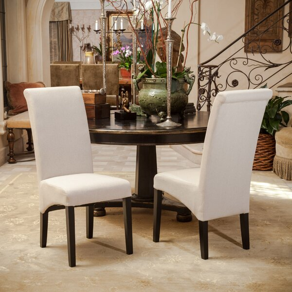 Monica Upholstered Dining Chair (Set of 2) by Latitude Run