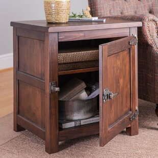 Portland End Table with Storage by Plow & Hearth