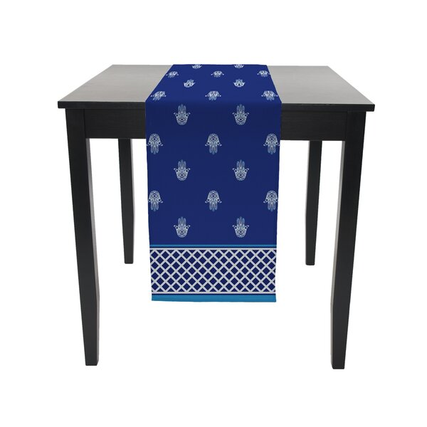 Winford Hamsa Signature Table Runner by Bloomsbury Market