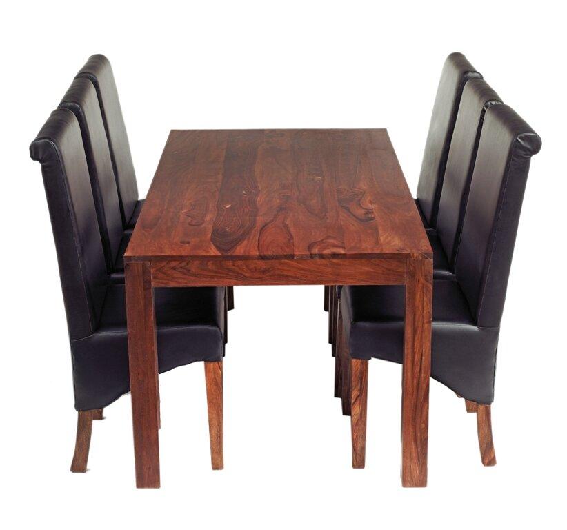 prestington essgruppe peyton mit 6 st hlen bewertungen. Black Bedroom Furniture Sets. Home Design Ideas