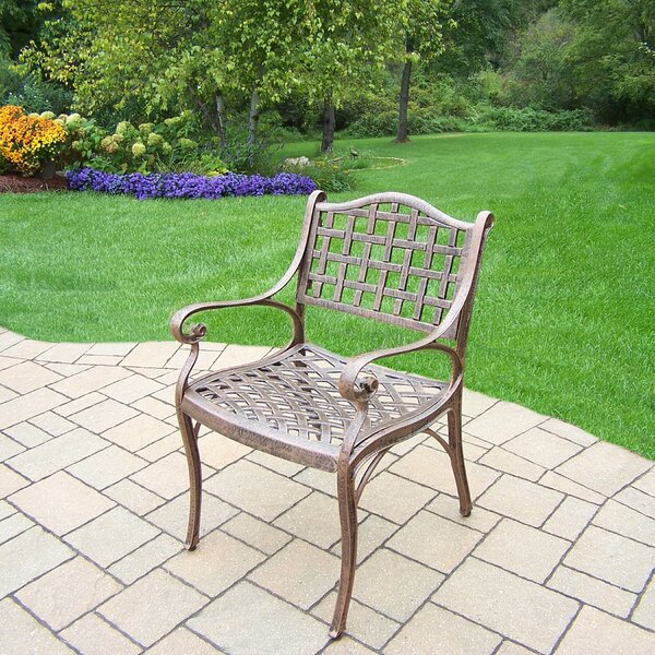 Thelma Patio Dining Chair By Astoria Grand
