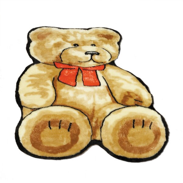 Teddy Bear Kids Rug by Walk On Me