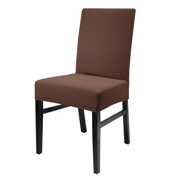 Stretch Spandex Dining Chair Slipcover (Set of 4) by Charlton Home