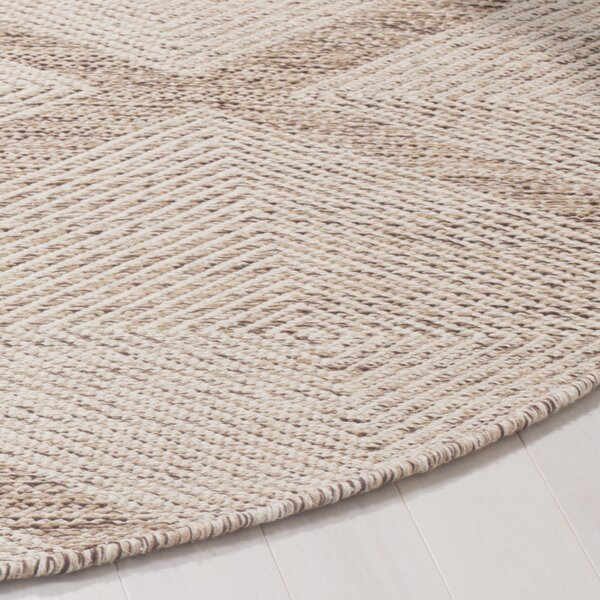 Shevchenko Place Hand-Woven Beige Area Rug by Wrought Studio