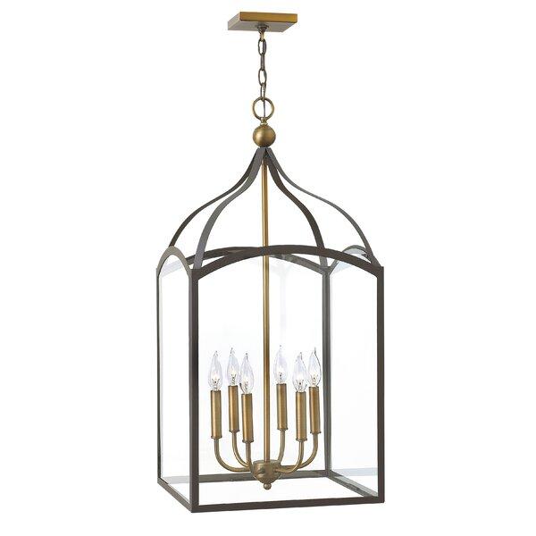 Jeremie 6 - Light Lantern Rectangle Chandelier by Gracie Oaks Gracie Oaks