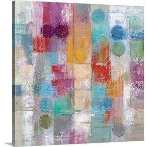 'Summer Rain' by Silvia Vassileva Painting Print on Canvas by Canvas On Demand