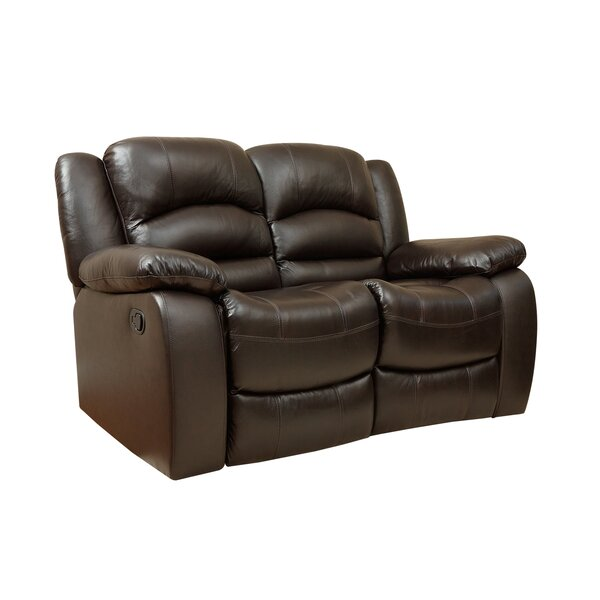 Looking for Jorgensen Leather Reclining Loveseat By Darby Home Co Fresh