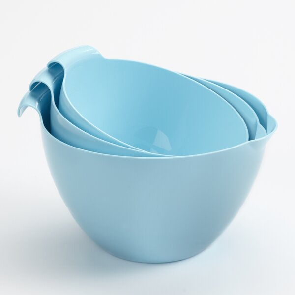 3 Piece Mixing Bowl Set by Linden Sweden
