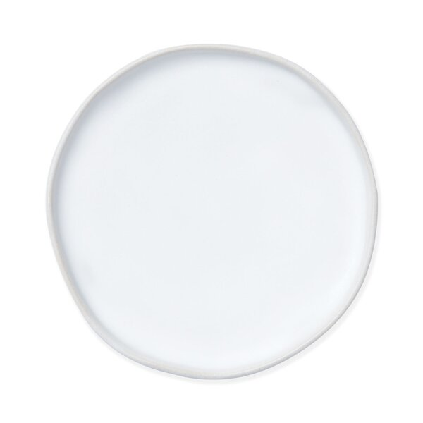 Bath Essentials Matte Round Bathroom Accessory Tray by VIETRI