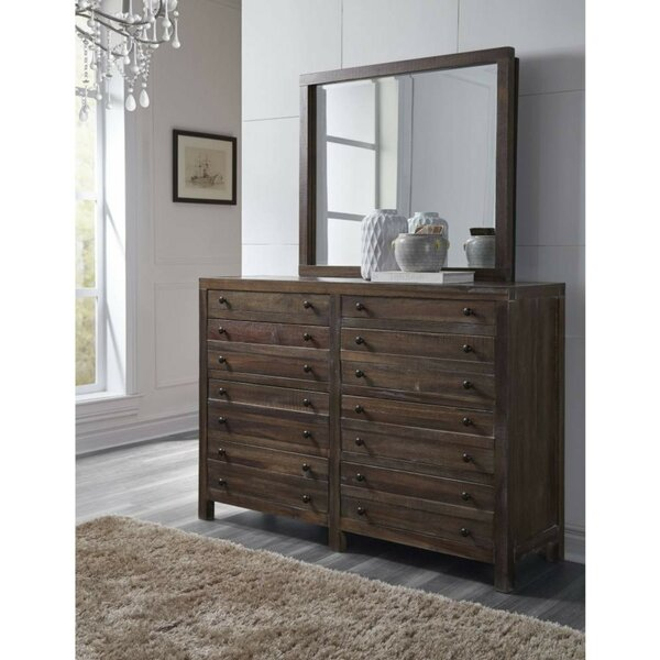 Boylan Solid Hardwood 12 Drawer Double Dresser by Foundry Select