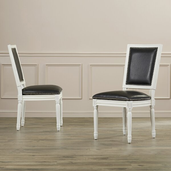 Battle Upholstered Dining Chair (Set Of 2) By House Of Hampton House of Hampton