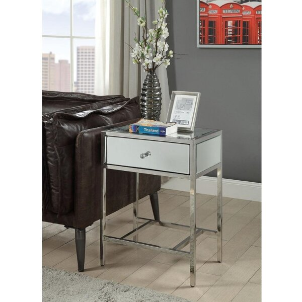 Adame End Table With Storage By Mercer41