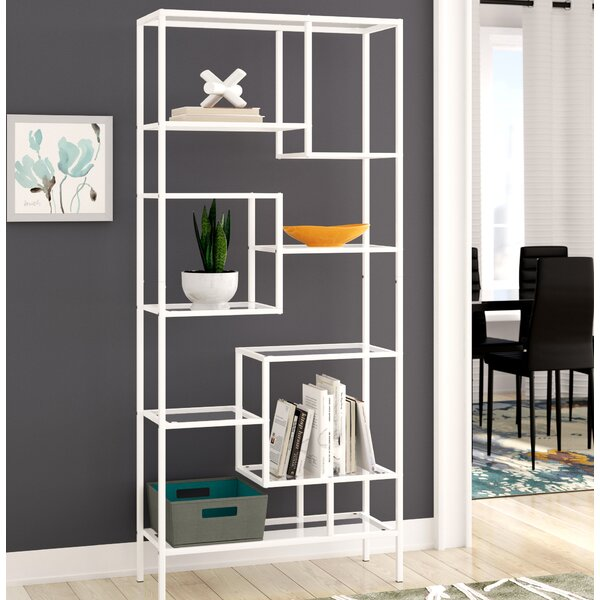Hickory Etagere Bookcase by Ebern Designs