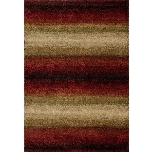 Jorma Red Area Rug by Latitude Run
