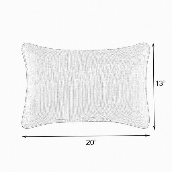 Holston Indoor/Outdoor Lumbar Pillow (Set of 2) by Highland Dunes