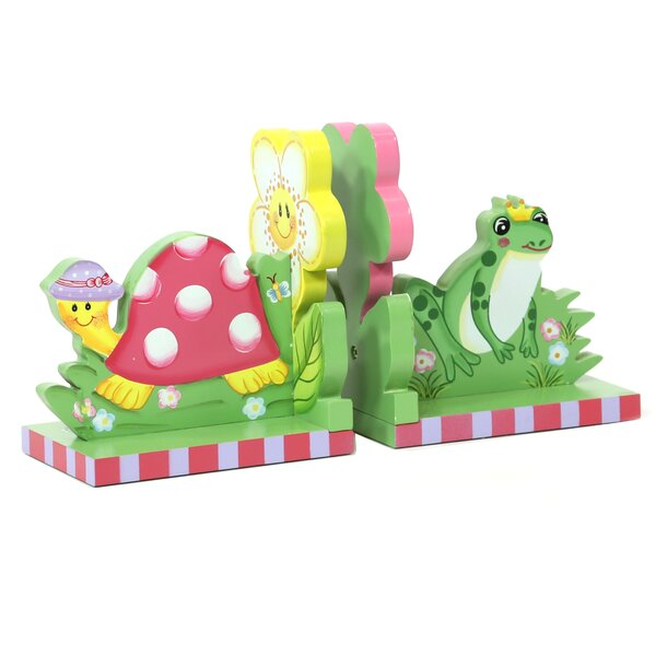Magic Garden Book End (Set of 2) by Fantasy Fields