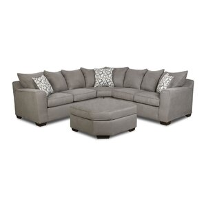 Simmons Sectional  sc 1 st  Joss u0026 Main : small grey sectional - Sectionals, Sofas & Couches