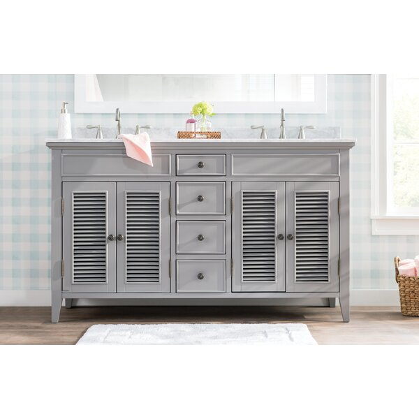 Grovetown 61 Double Bathroom Vanity Set by Laurel Foundry Modern Farmhouse
