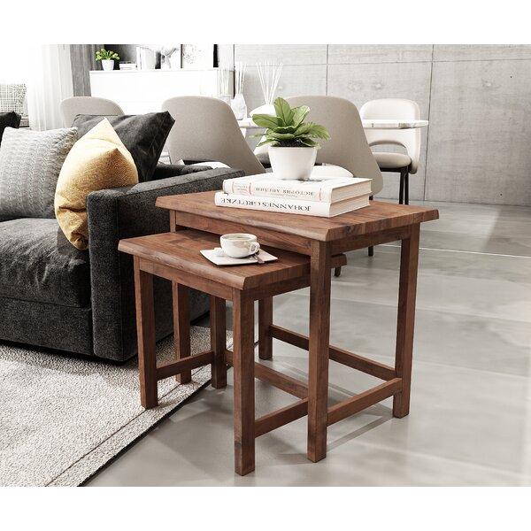 Bunce 2 Piece Nesting Table By Foundry Select