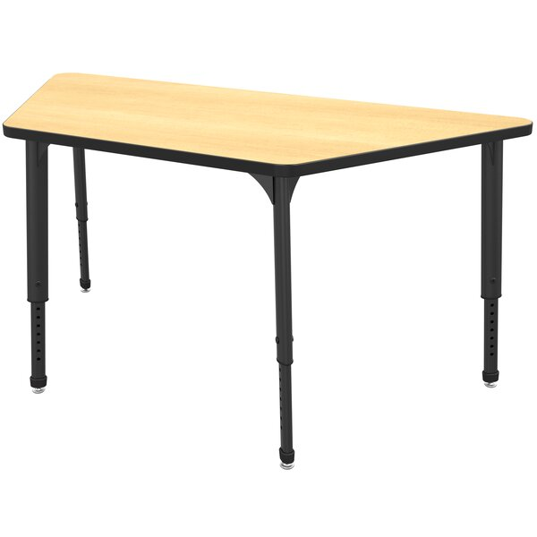 Apex Series 30'' x 60'' Trapezoidal Activity Table by Marco Group Inc.